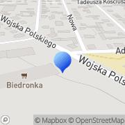 Mapa Karwowscy J.A. Autoczęści Jedwabne, Polska