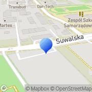 Mapa Czajko Bogusław. Dorabianie kluczy Ełk, Polska