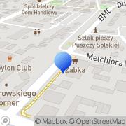 Mapa Dach-Styl Biłgoraj, Polska