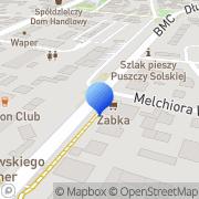 Mapa Autozbyt Biłgoraj, Polska