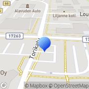Kartta Raha-automaattiyhdistys Alavus, Suomi