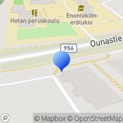 Kartta ASPA Palvelut Enontekiön toimintayksikkö Enontekiö, Suomi