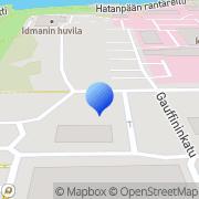 Kartta Tampereen kaupunki Hatanpään puistosairaala Tampere, Suomi