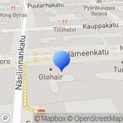 Kartta Ihopiste Tampere, Suomi