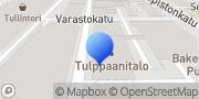 Kartta Kehitysvammaisten Palvelusäätiö Tampere, Suomi