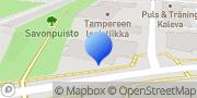 Kartta Tampereen KV-Isännöinti Oy Tampere, Suomi