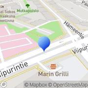 Kartta Hämeen Matkailu Oy Hämeenlinna, Suomi