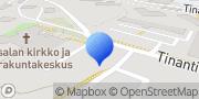 Kartta Masalan Pyhän Matteuksen kirkko Masala, Suomi