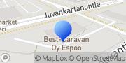 Kartta Best-Caravan Espoo Espoo, Suomi