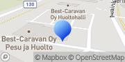 Kartta Best Caravan Hyvinkää, Suomi