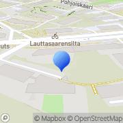 Kartta ExpressBus Helsinki, Suomi