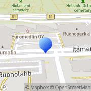Kartta Nokia Oyj:n Säätiö Helsinki, Suomi