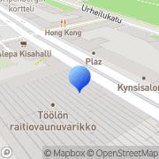 Kartta Muovialan Yrittäjien Liitto Ry Helsinki, Suomi