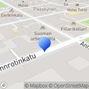 Kartta Radio Advertising Bureau RAB Finland Oy Helsinki, Suomi