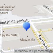 Kartta Opettaja-lehti Helsinki, Suomi