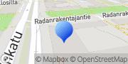 Kartta Suomen Osto- ja Logistiikkayhdistys LOGY ry, Finlands Inköps- och Logistikförening LOGY rf Helsinki, Suomi