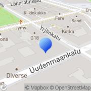 Kartta Mainostajien Liitto Helsinki, Suomi