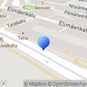 Kartta Soneran Eläkesäätiö Helsinki, Suomi