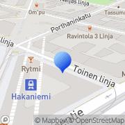 Kartta Tyttöjen Talo Helsinki, Suomi