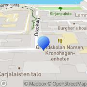 Kartta Eurooppanuoret ry Helsinki, Suomi