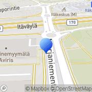 Kartta Näkövammaismuseo Helsinki, Suomi