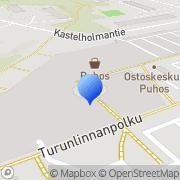 Kartta Intersport Helsinki Puhos Helsinki, Suomi