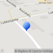 Kartta Jämsän 4H-yhdistys Jämsä, Suomi