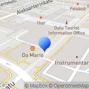 Kartta Oulun Sotilaskotiyhdistys ry Oulu, Suomi
