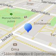 Kartta Suomen Sydänliitto Oulun aluetoimisto Oulu, Suomi