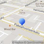 Kartta Oulun Sos Dem Työväenyhdistys Oulu, Suomi