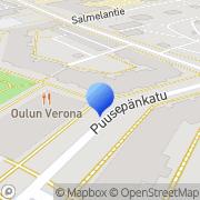 Kartta Hyvän Mielen Talo ry Oulu, Suomi