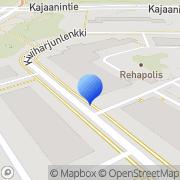Kartta Pohjois-Suomen Tules-keskus Oulu, Suomi