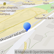 Kartta Jyväskylän Yliopiston Ylioppilaskunta Jyväskylä, Suomi