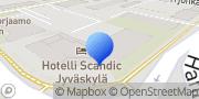 Kartta Eläkeliiton Keski-Suomen piiri Jyväskylä, Suomi