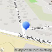Kartta Etelä-Kymen Epilepsiayhdistys ry Kotka, Suomi