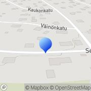 Kartta Kotkan Omakotiyhdistys Kotka, Suomi