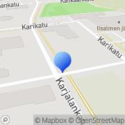 Kartta Ylä-Savon Ensi- ja Turvakotiyhdistys ry Iisalmi, Suomi
