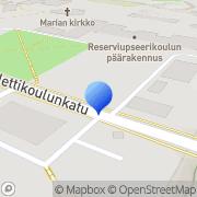 Kartta RUK:n Oppilaskunnan Kannatusyhdistys ry Hamina, Suomi