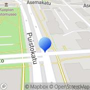 Kartta Maanpuolustuskoulutusyhdistys Pohjois-Savo Kuopio, Suomi