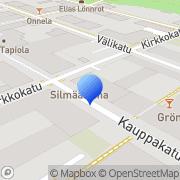 Kartta Kainuun Yrittäjät Kajaani, Suomi