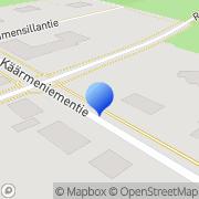Kartta Varkauden Seudun Työttömät Ry toimintakeskus Varkaus, Suomi