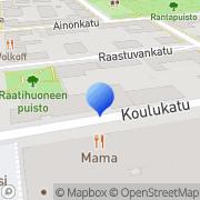 Kartta Lappeenrannan Kaupunkikeskusta - Lakes ry Lappeenranta, Suomi