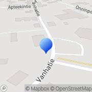 Kartta Juuan 4H-yhdistys Juuka, Suomi
