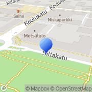 Kartta Itä-ja Keski-Suomen alueyksikkö Joensuu, Suomi
