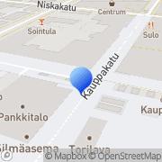 Kartta Maaseudun Sivistysliitto ry Itä-Suomen aluekeskus Joensuu, Suomi