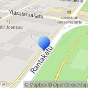 Kartta Ortodoksisten Nuorten Liitto ONL ry Joensuu, Suomi