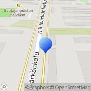 Kartta Ilomantsin Riistanhoitoyhdistys Joensuu, Suomi