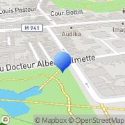 Carte de Fiprotec Nord S.A. Loos, France