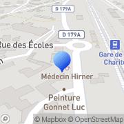 Carte de David Lange S.A. La Charité-sur-Loire, France