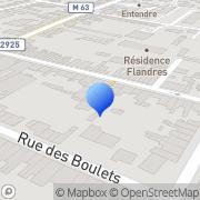 Carte de D.M.S. S.A. - Dujardin Montbard Somenor Seclin, France